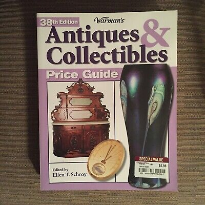 Warman's Antiques and Collectibles Price Guide (2004, Paperback, Revised)