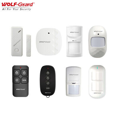 WIFI GSM HOME Door Burglar Security Alarm System PIR Fire