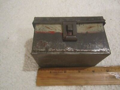 Antique American Tole Document Box - Paint Decorated - 19th C