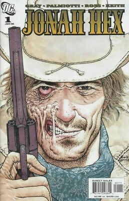 Jonah Hex (2nd Series) 1A 2006 VG Stock Image Low Grade