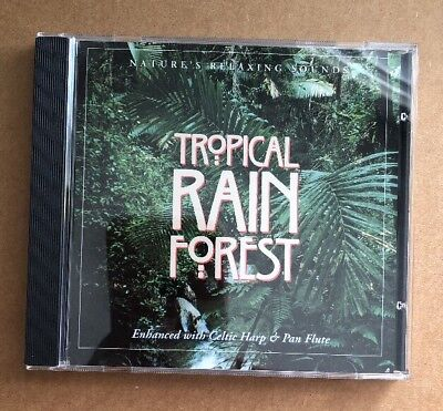 THE SOUNDS OF Nature : Sounds Of The Tropical Rain Forest CD - $6 99