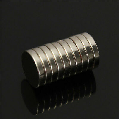 10st N50 Strong Round Magnete 10mm X 2mm Rare Earth Neodymium Magnete