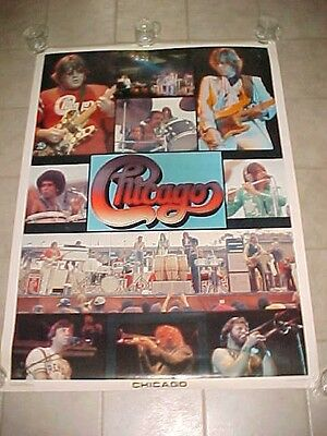 CHICAGO Rock Band Peter Cetera Transit Authority '77 Outdoor Concert Wall Poster