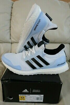 9ca9c897aaf Brand New Adidas UltraBOOST x GOT White Walkers Game of Thrones EE3708 Size  12