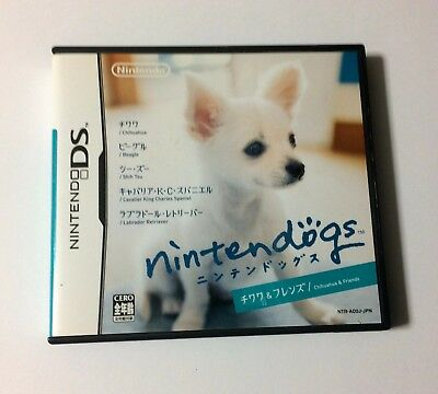 USED Nintendo DS Nintendogs Chihuahua & Friends JAPAN Japanese game import