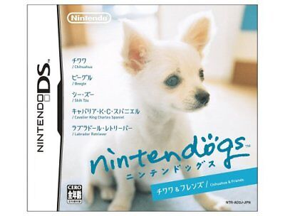 NEW Nintendo DS Nintendogs Chihuahua & Friends JAPAN Japanese game import