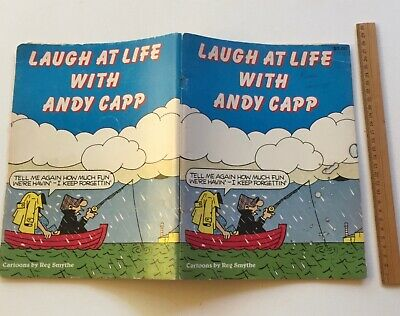 Vintage Laugh At Life With Andy Capp Reg Smythe 1983 PB Comic Book