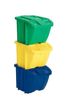 16 GALLON RECYCLE Bin Kit Trash Container Kitchen Waste Can ...