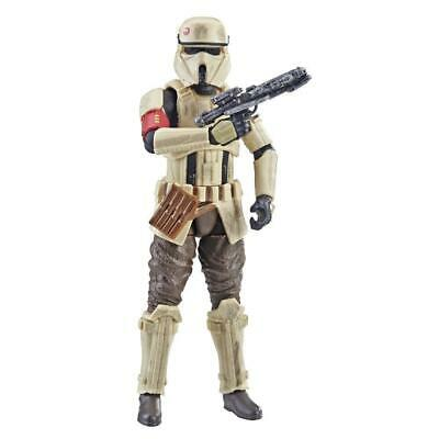 "Star Wars Vintage Collection 3.75"" Scarif Stormtrooper Figure w/ Accessory NEW"