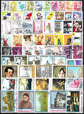 520 Romanian different stamps NEW assortment (10 scans)