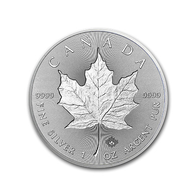 CANADA 5 Dollars Argent 1 Once Maple Leaf Incuse 2019