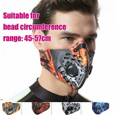 Activated Carbon Dust-proof Cycling Face Mask Outdoor Running Sports Dust-proof