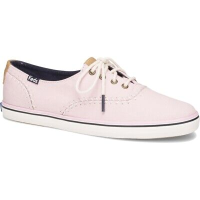 f663bb7480f KEDS WOMEN S CHAMPION Cotton Sateen Lace up Sneaker Petal Pink Pick ...