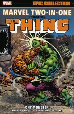 Marvel Two-in-One Cry Monster TPB (Marvel) Epic Collection #1-1ST 2018 NM