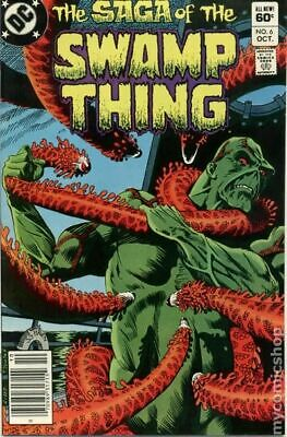 Swamp Thing (2nd Series) #6 1982 VG Stock Image Low Grade