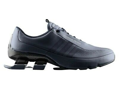 263346eb75acf Adidas Porsche Design Sport Bounce Shoes S4 LUX II Mens Run Blue Limited  AQ3582