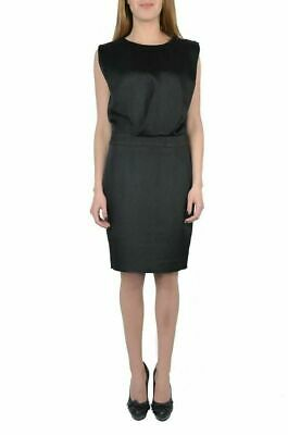 52f7ce6a38 Viktor & Rolf Silk Sparkling Black Sleeveless Women's Sheath Dress US ...