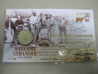 2019 PERTH STAMP & COIN SHOW PNC SUPER SPECIAL Low Number 5. Get in quick