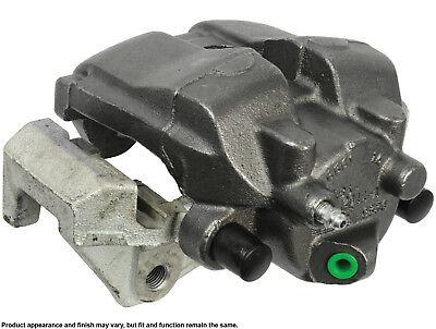 Disc Brake Caliper-Friction Choice Caliper w//Bracket Front Left Cardone Reman