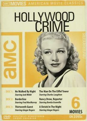 DVD AMC Hollywood Crime Collection HE WALKED BY NIGHT BORDERLINE THIRTIETH GUEST