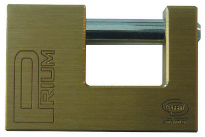 Corbin Padlock Safety Security for Shutter 70 mm Brass with 2 Keys