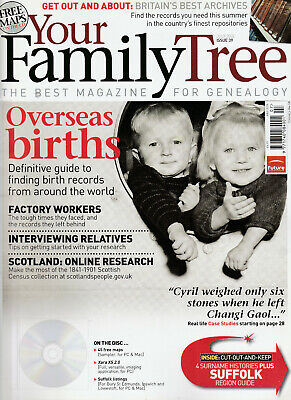 YOUR FAMILY TREE Magazine July 2006 - Overseas Births