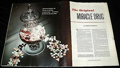 Aspirin 1953 The Original Miracle Drug After 100 Years New Medical Uses Feature
