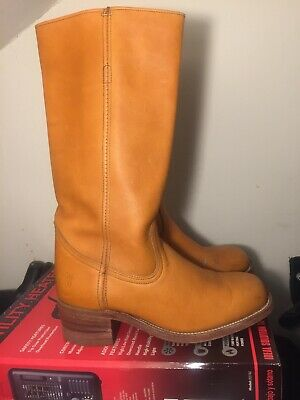 Women's Shoes Vtg Botas Vaqueras 7 Womens Tall Campus Riding Boots In Size 8.5