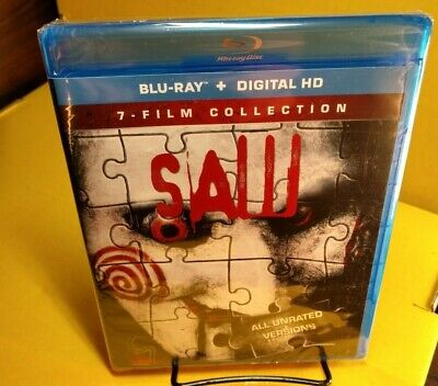 Saw: The Complete Movie Collection (Blu-ray+Digital) NEW-Free Shipping w/Trackin
