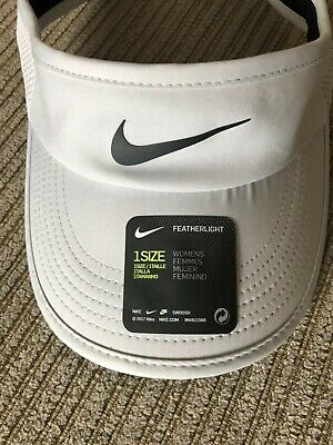 15d0eb8e51f NIKE COURT AEROBILL Featherlight Women s Tennis Visor 899656 043 ...