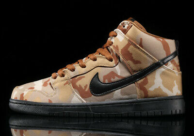 buy online 1d71e 8f931 Nike Sb Dunk High Brown Desert Parachute Beige Black Ale Sz 7-15
