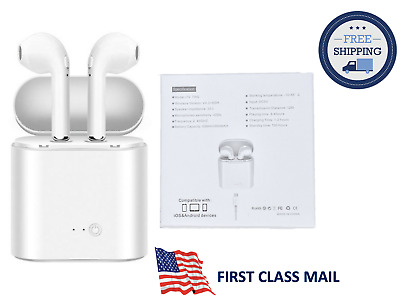 For iPhone X Airpods Wireless Bluetooth Headset Earphones+Charging Station+USA