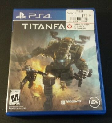Titanfall 2 Sony PlayStation 4 ps4 shooter game great condition. CIB, Complete