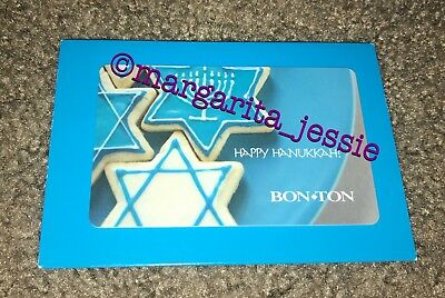 "Bon-Ton Gift Card ""Happy Hanukkah"" No Value Collectible Rare Bonton Store Closed"