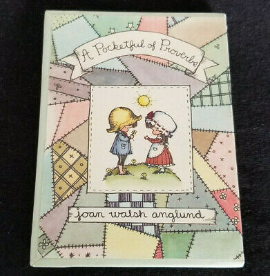 A Pocketful of Proverbs by Joan Walsh Anglund: Small Book w/ Jacket & Slipcover