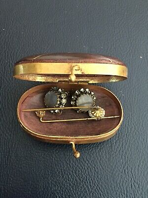 antique jewellery Trinket With Contents