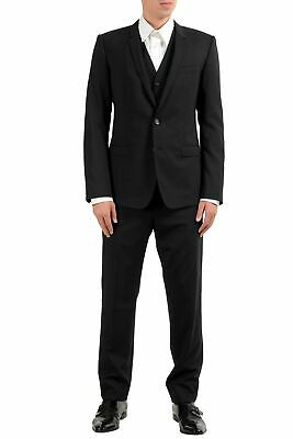 """Dolce & Gabbana """"Gold"""" Men's Wool Two Button Three Piece Suit US 38 IT 48"""