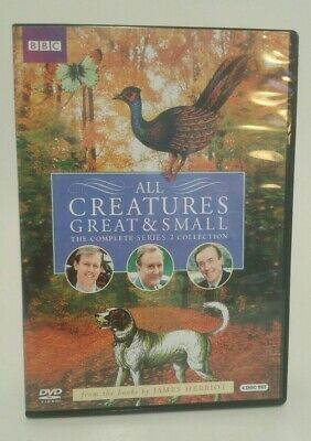All Creatures Great & Small The Complete Series 2 Collection Reg 1 FREE SHIP VG