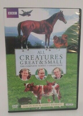 All Creatures Great & Small The Complete Series 1 Collection FREE SHIPPING!!