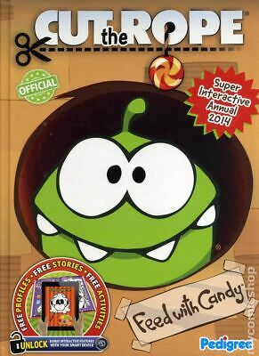 Cut The Rope Interactive Annual HC 2014 2013 NM Stock Image
