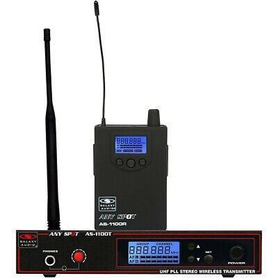 Galaxy Audio AS-1100 UHF Wireless Personal Monitor Band D