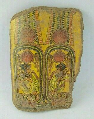 RARE ANCIENT EGYPTIAN ANTIQUE QUEEN Pottery Fragment 1352-1147 BC