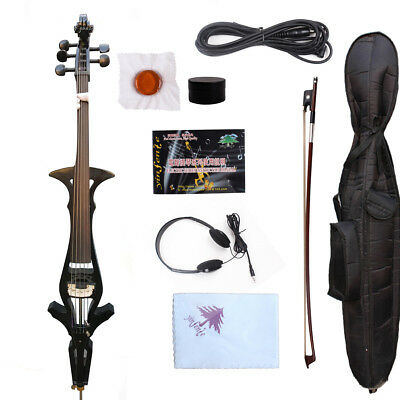 String Musical Instruments & Gear Energetic Yamaha Silent Cello Svc50 Acoustic-body Electric Headphone Made In Japan New