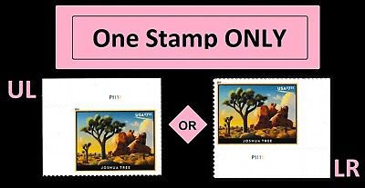 US 5347 Priority Mail Joshua Tree $7.35 plate single MNH 2019