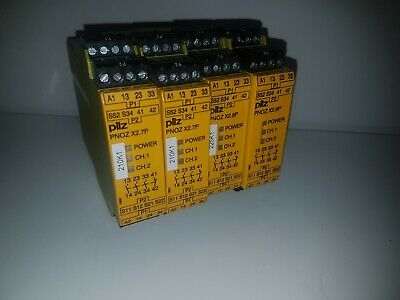 Pilz PNOZ X2.8P Safety Relay 24 VACDC