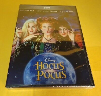 Hocus Pocus (DVD,2018)25th Anniversary Edition-NEW-Free Shipping with Tracking