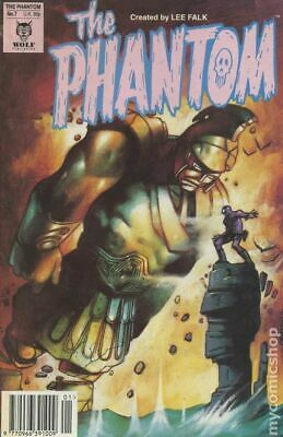Phantom (Wolf UK) #7 1992 FN 6.0 Stock Image