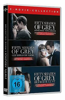 Fifty Shades of Grey - 3-Movie Collection - DVD / Blu-ray - *NEU*