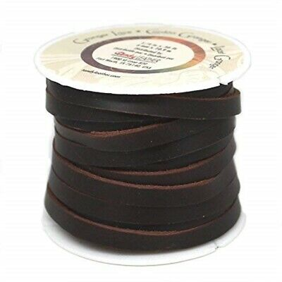 """Durable 1/4"""" Wide Granger Lace Brown 36 Feet"""