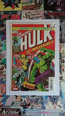 Incredible Hulk #181 The Facsimile Edition 2019 NEW BAGGED AND BOARDED 🔥